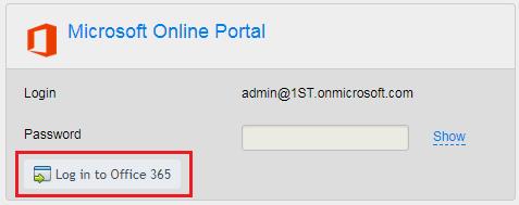 6 0 Access the Microsoft Online Portal (External) - Dell Cloud