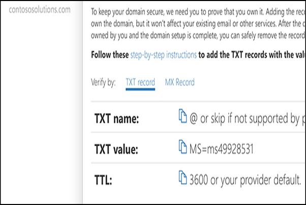 2 2 Verify Your Domain - Dell Cloud Support Portal